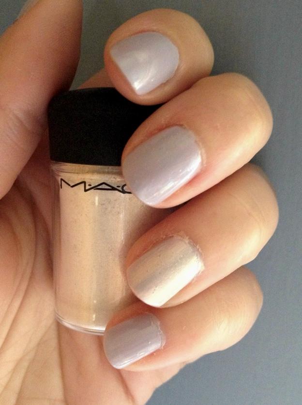 Vanilla nail polish