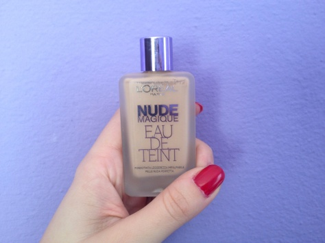 L'Oreal Nude Eau de Teint2
