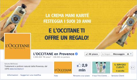 occitane facebook